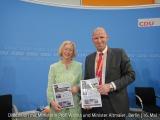 Diskussion mit Ministerin Prof. Wanka und Minister Altmaier   16.Mai